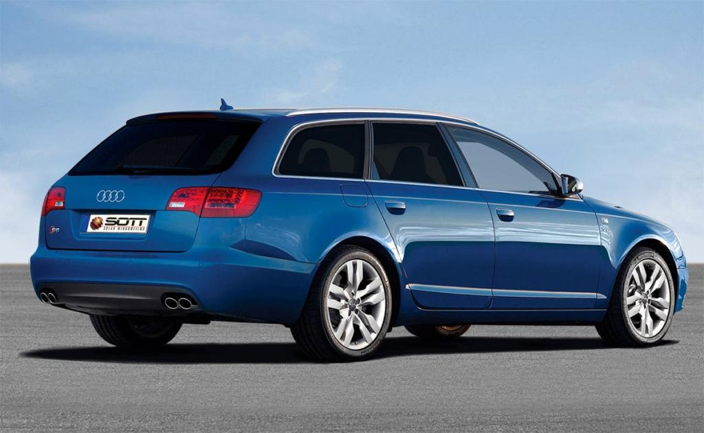 Audi S6 Tönung tiefschwarz