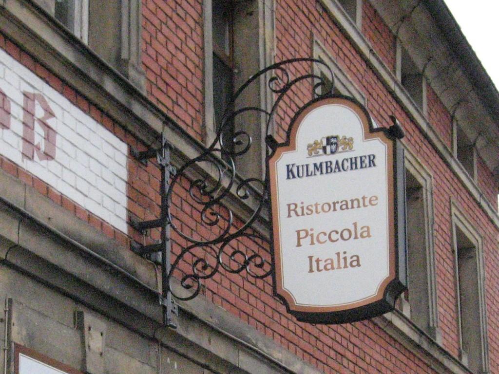 Ausleger Piccola Italia