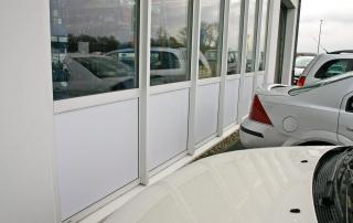 Fensterbeklebung als Sichtschutz