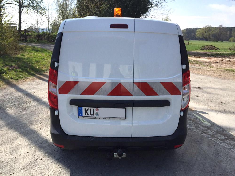 Fahrzeugbeschriftung Kommunalfahrzeug