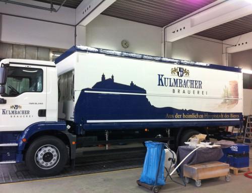 Kulmbacher LKW Beschriftung