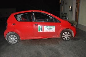 Magnetfolie zur Fahrzeugwerbung