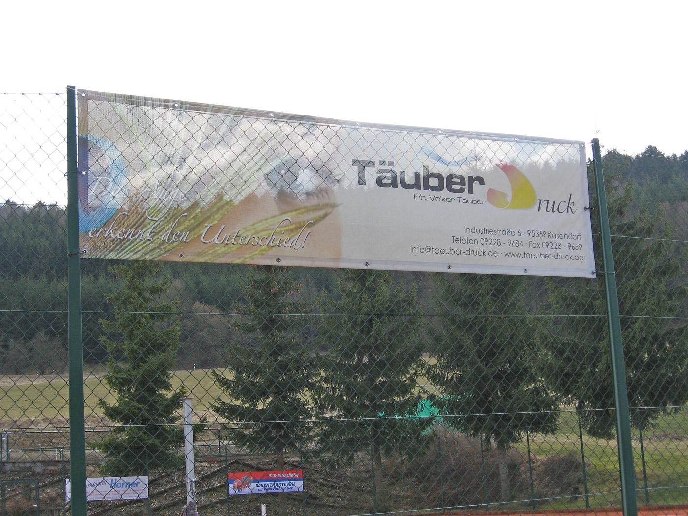 Mesh Banner Täuber