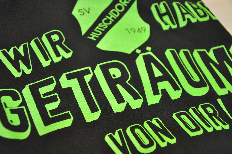 Siebdruck Neon Grün