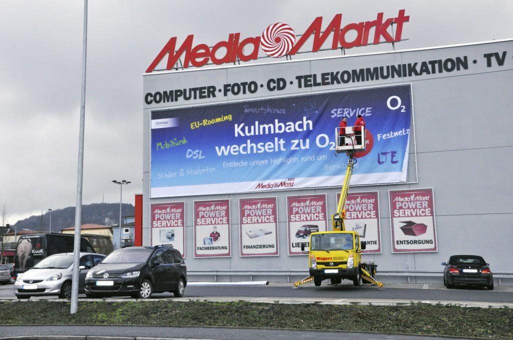 Meshbanner Wechsel in Kulmbach