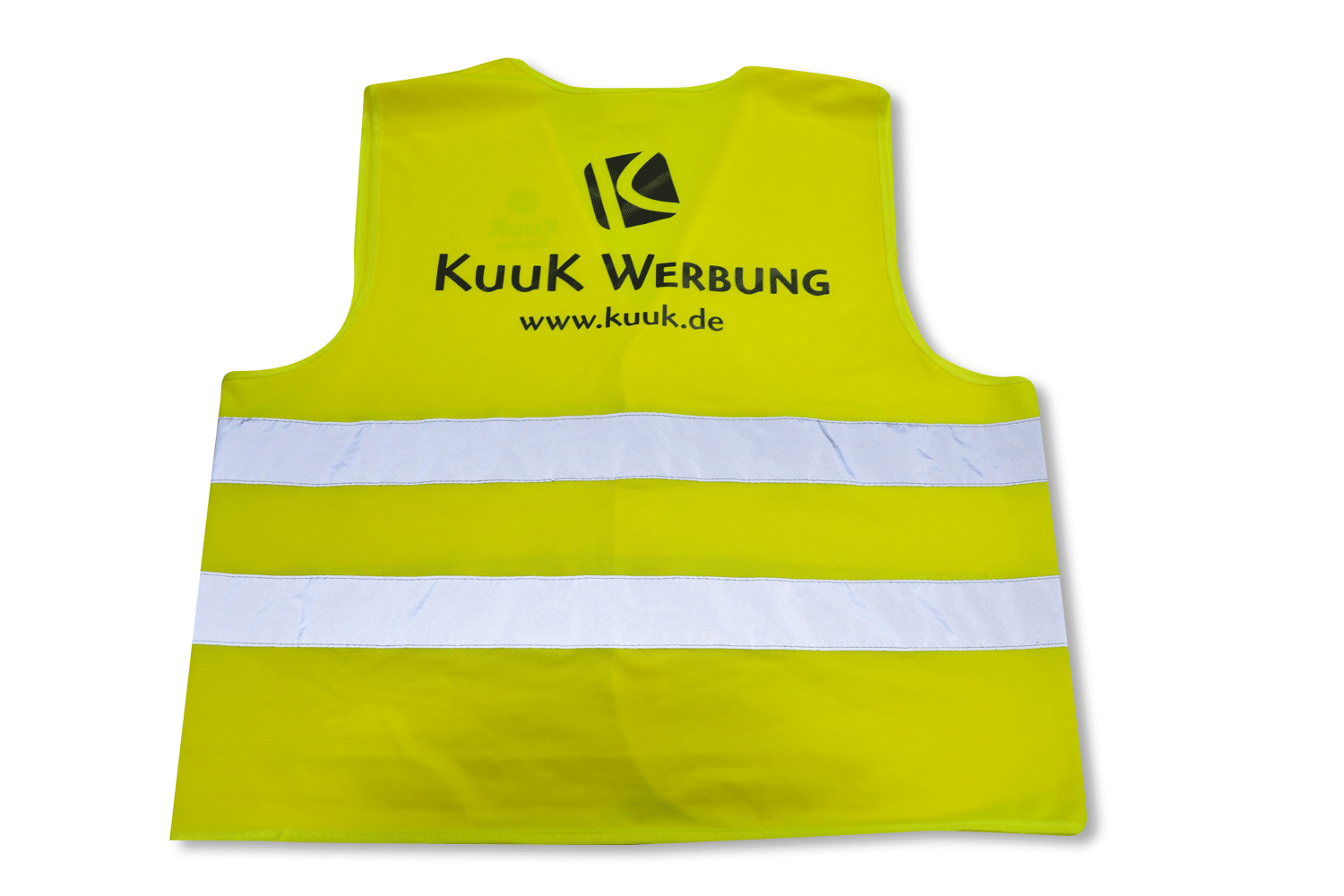 Warnweste mit Flexdruck